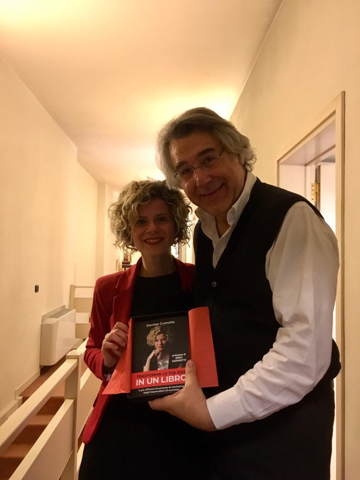 Evento lancio libro Denise Cumella